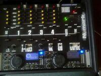 Gemini/Numark cd deck & mixer