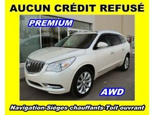 2013 Buick Enclave AWD PREMIUM *FULL* TOIT PANO *NAV + DVD* A VO