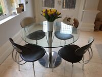 John Lewis dining table and chairs