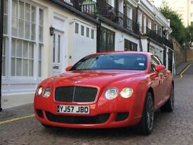 2007 BENTLEY CONTINENTAL GT SPEED Excellent condition, kept in heated garage with indoor dust cover