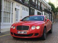 2007 BENTLEY CONTINENTAL GT SPEED Excellent condition, kept in heated garage with indoor dust cover
