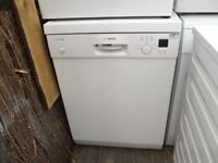 BOSCH FULL SIZE DISHWASHER IN GOOD CLEAN WORKING ORDER FULLY REFURBISHED 3 MONTH WARRANTY IN WHITE