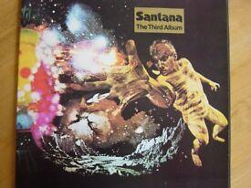 Santana. The Third Album. Vinyl.