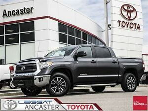 2014 Toyota Tundra TRD CREWMAX 5.7L V8 4X4 WITH ONLY 32015 KMS!!