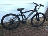 CARRERA FULL SUSPENSION MOUNTAIN BIKE DISC BRAKES