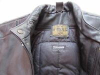 BKS two piece motorcycle leathers.