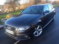 2009 59 Audi A4 Avant S line 2.0 Tdi 143 bhp 6 speed estate # leather # p/sensors # xenons# s/h