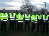 Event security staff required