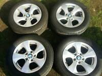 16 inch 5x120 genuine BMW alloys wheels. Trafic / Vivaro