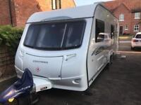 Coachman 6 berth caravan twin axle 21/6 special edition