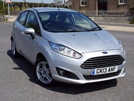 2013 Ford Fiesta 1.6TDCi Zetec Econetic with SatNav. FsH, New MOT & Service. I Can't Find Cheaper!