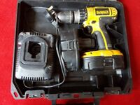 Dewalt Cordless Drill 18V Model DC727 Good Condition £60 No Offers Immediate Pickup