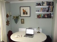 Relaxing & Peaceful Office space / Work space