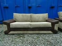 Brown 3+2 Seater Sofas *Very Good Condition*