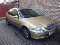 ROVER 45 CLUB SALOON 02 PLATE AUTOMATIC