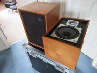 Wharfedale Denton XP2 HiFi Speakers For Spares or Repairs