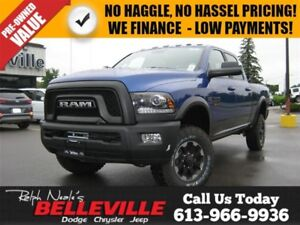 2017 Ram 2500 Power Wagon-Sunroof-Navigation-Back UP Camera