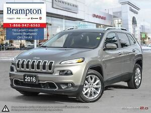2016 Jeep Cherokee Limited Company Demo|Only 5600 Kms|Leather|Na