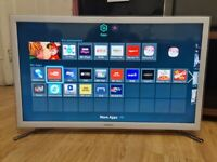 Samsung 32 inch White LED Smart Tv with Wifi