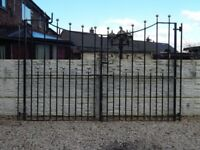 Wrought iron gates / Driveway gates / Garden gates / Metal gates / Steel gates / Galvanised gates