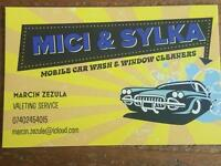 Mobile car wash and valeting service
