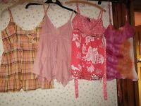 Tops, shirts and Tees