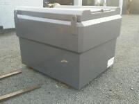 1200 bunded diesel tank bowser with filling nozzle ideal for plant hire building site farm etc