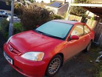 1.7vtech Civic coupe for sale