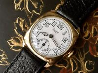 vintage 9ct 9k 375 solid gold Limit watch (Christmas present gift)