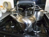 STELLAR stainless steel kettle-SUITABLE FOR ALL HOBS including AGA and induction