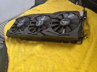 ASUS ROG Strix Nvidia GeForce GTX 1070 8gb graphics card