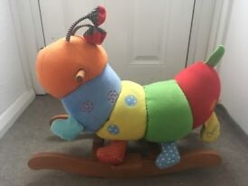 Mamas & Papas Rocking Animal (Charlie the Caterpillar) in Great Condition - collection only please