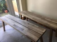 IKEA Dining Benches