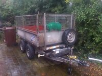 Ifor Williams Electric Tipping Trailor. Electrically operated.