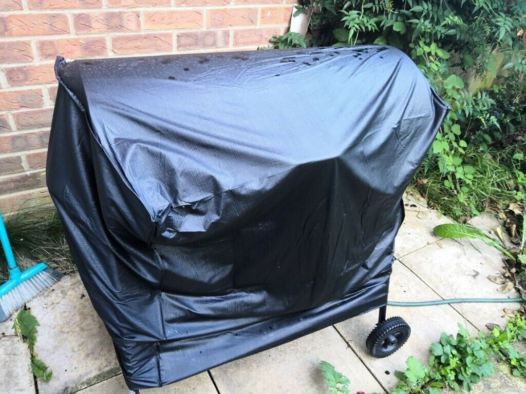 Charcoal Oil Drum Bbq Cover Utensils Adjustable Grill Like New In Cambridge Cambridgeshire Gumtree