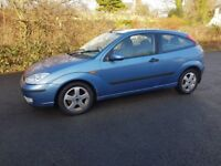 FORD FOCUS MP3 1.8 ZETEC 16V PETROL 3 DOOR HATCH 2003 03 PLATE