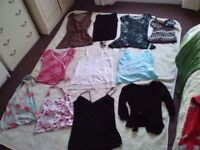 Selection of ladies tops sizes 6 - 10