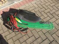 Electric garden vacuum / shredder and blower