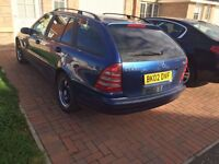 220 CDI Estate for sale, full year MOT