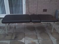 Massage Bed with Creams/Accessories ASAP!! TWICE USED