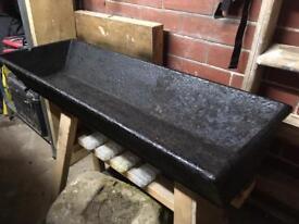 Antique cast iron through