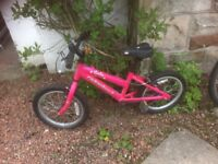 Melody and MX16 Ridgeback Mountain bikes for small children