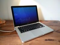 Macbook Pro, (13-inch, Mid 2012) 2.9Ghz dual-core Intel Core i7, 8GB RAM, 750Gb harddrive