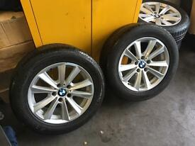Bmw 5 series f10 set of 4 wheels an tyres
