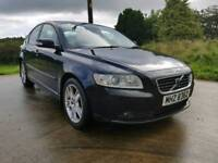 NOV.2007 VOLVO S40 1,6 DIESEL,,MOTED TO JUNE 2018..POSSIBLE PART EXCHANGE...CREDIT CARD ACCEPTED