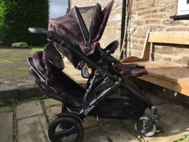 Britax Bdual travel system (double pushchair)