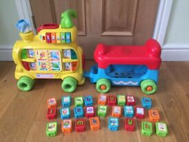 Vtech push and ride baby alphabet train