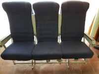 FUNKY SEATING -SET OF 3 - Great for gaming, kids room, or man cave. Also ideal for van conversion.