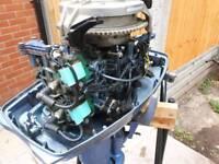 25hp evinrude johnson outboard engine
