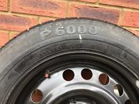 Pirelli 195/65/15 91v/ spare wheel with brand new tyre
